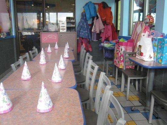 McDonald's: The Birthday room