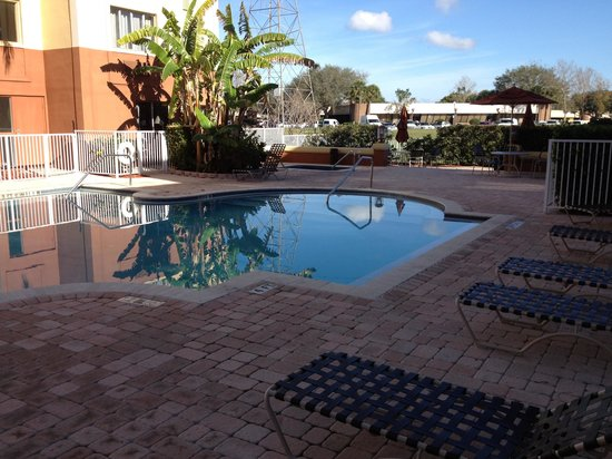Holiday Inn Express Clearwater East - ICOT Center: I enjoy the winter months in Florida
