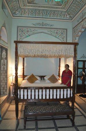 Narain Niwas Palace: Room interior
