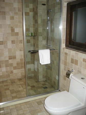 Red Wall Garden Hotel: Shower