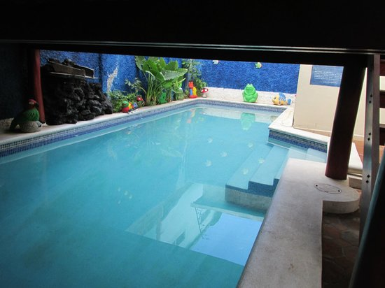 Art Hotel Managua: The pool was small but lovely