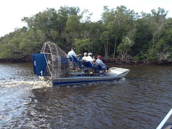 Everglades City Airboat Tours: Air boat