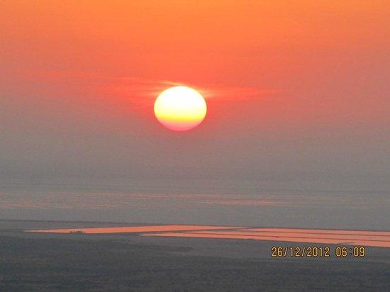 White Desert: Sunset at Kala Dungar