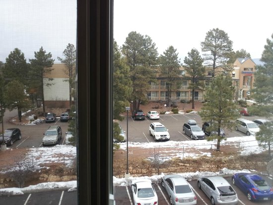 Hilton Garden Inn Flagstaff: View from window facing north