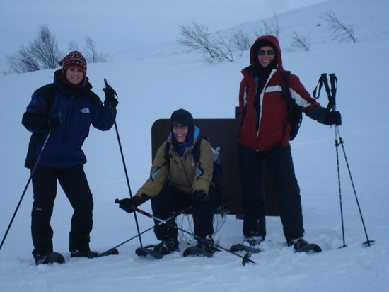Inspiration Iceland: Snowshoeing on the fjord