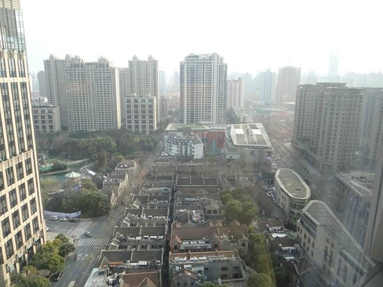 The Langham Shanghai Xintiandi: The view from my room (right side)
