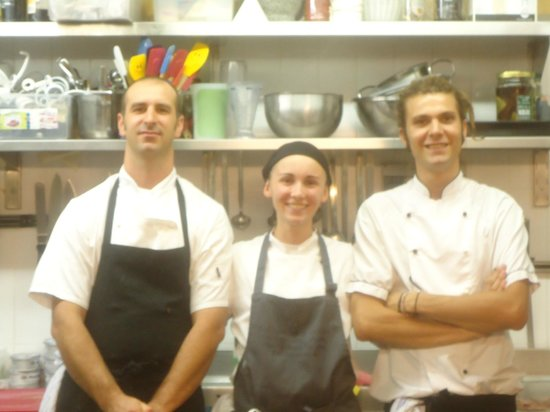 Hotel Castello di Sinio: warm and loving kitchen staff