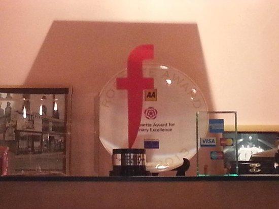Sweet Mandarin: F Word Trophy