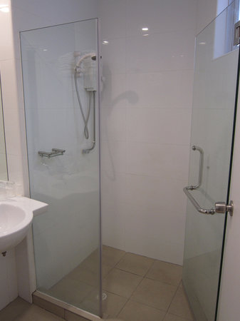YMCA One Orchard:                                     shower
