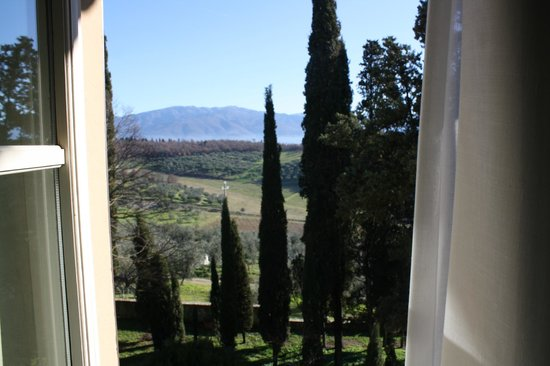 Villa Fattoria di Moriano: view from bedroom