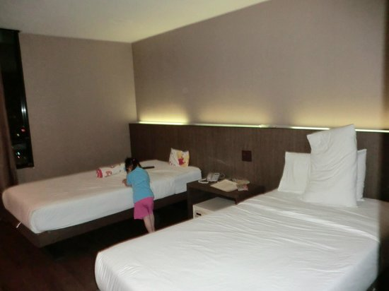 Bangkok City Hotel: Nice bed