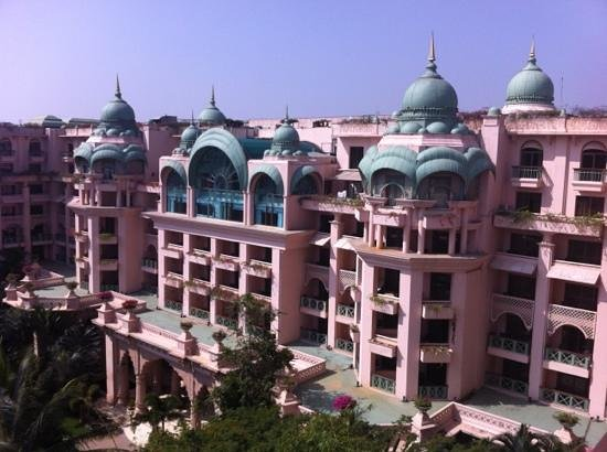 The Leela Palace Bengaluru: view from my room!