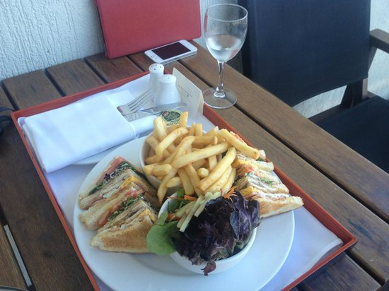 ‪‪Shangri-La Hotel, The Marina, Cairns‬: Club Sandwich