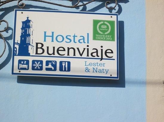 Hostal Buen Viaje: Anuncio Hostal Buenviaje