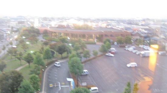 Sabae City Hotel: 部屋からの眺め