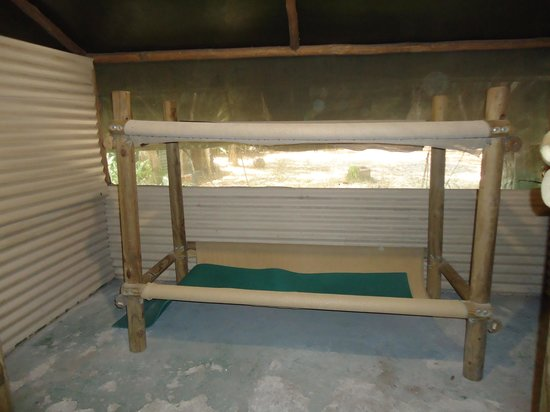 Gagaju Bush Camp: Dorm bunk