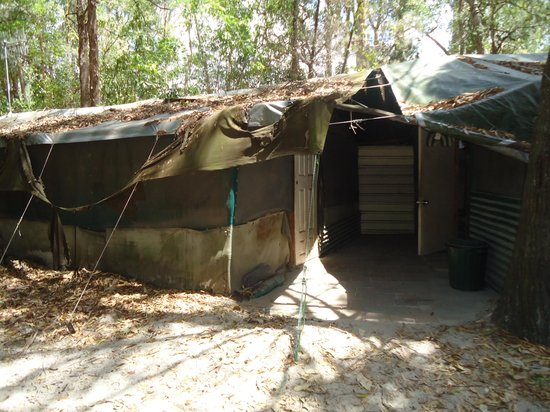 Gagaju Bush Camp: General building