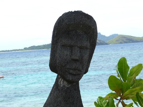 Tokoriki Island Resort:                   Someone guarding the island