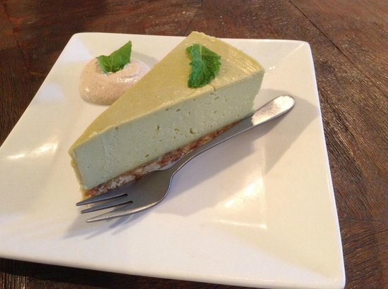 Kind Living Cafe:                   Raw Key Lime Pie