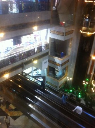 inside the Hilton shopping center - Picture of Makkah Towers