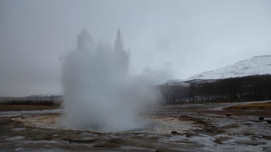 Iceland Aurora Photo Tours - Day Tours :                   Geysir
