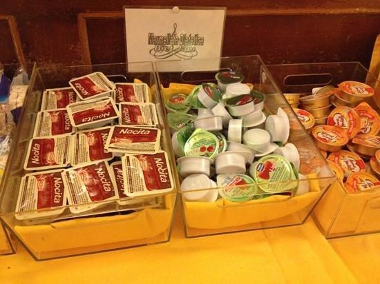 Hotel Napoleon: mermelada apta para diabéticos