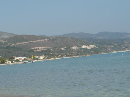 Alykanas Beach Apart-Hotel: taken from the pool area