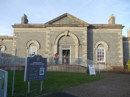 Downpatrick & County Down Railway : Downpatrick - Railway museum entrance