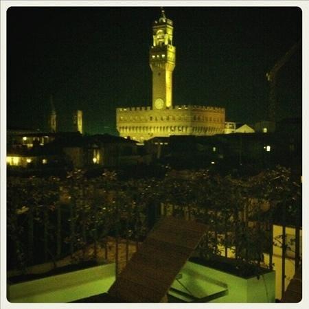 كونتيننتال: vista dal terrazzo della nostra camera 