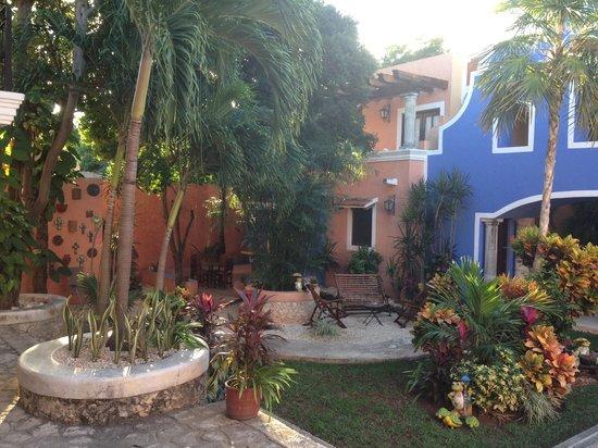 Hotel Casa de las Flores Playa del Carmen: La mia Posada, ottimo posto
