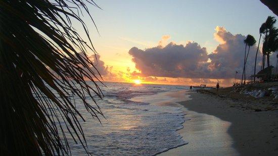 Iberostar Grand Hotel Bavaro: Sonnenaufgang in der Kariebik