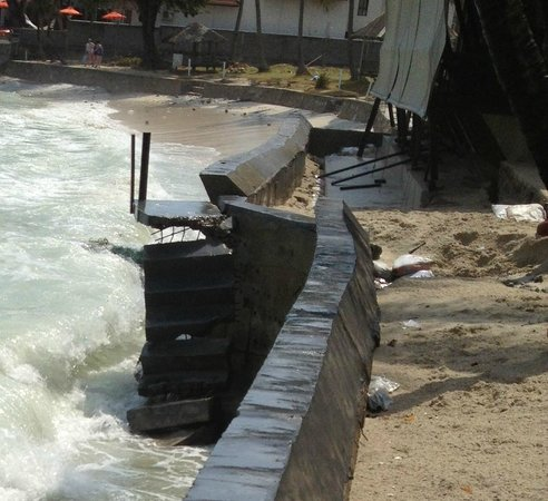 Samui Paradise Chaweng Beach Resort: Baumängel