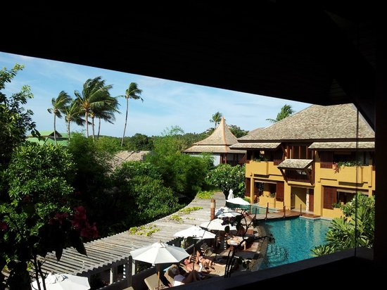 Deva Samui Resort & Spa: view from the room