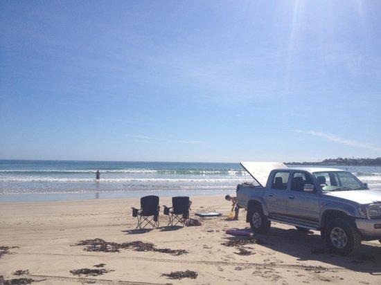 Discovery Parks - Harrington: Crowdy Head beach