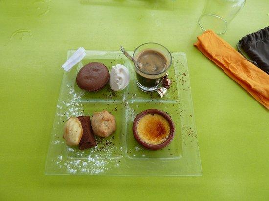 au K'banon : Café gourmand