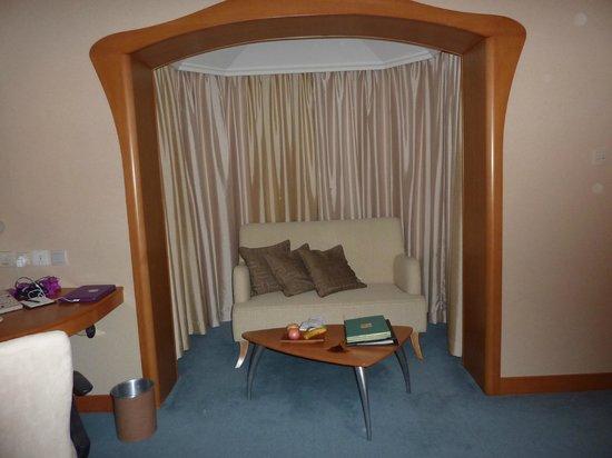 Shangri-La Hotel, Singapore: Room alcove