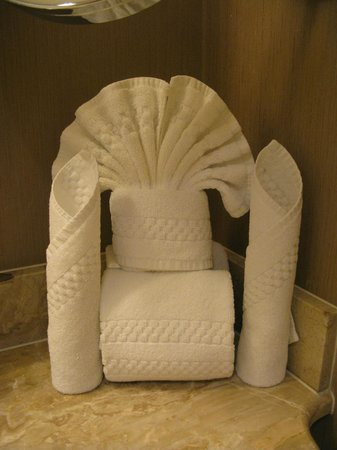 Hotel Commonwealth: Nice Towel arrangement