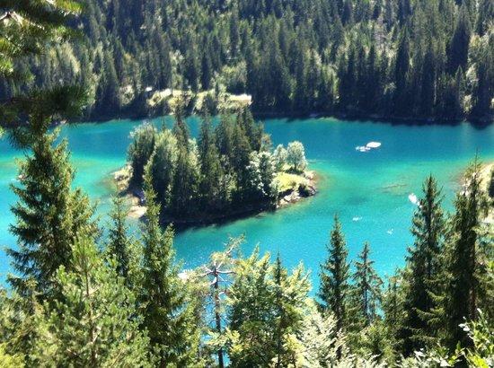 Flims, Switzerland: scorcio del lago