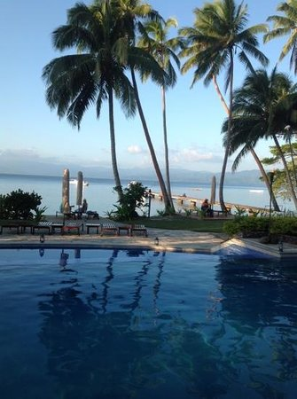 Jean-Michel Cousteau Resort Fiji : pool with a view