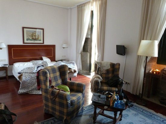 Hotel Pazo de Mendoza: Habitacion