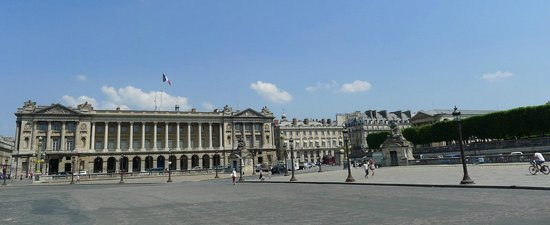 Hotel de Crillon:                   Beautiful Crillion