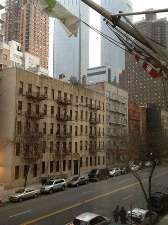 The Watson Hotel: vista do nosso quarto