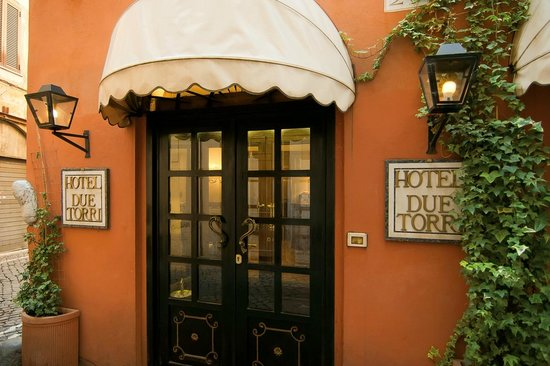 Hotel Due Torri: entrata