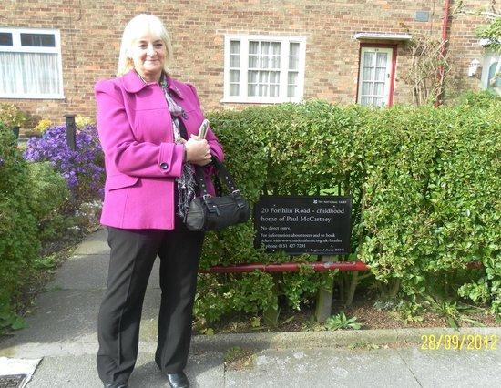 20 Forthlin Road - La casa de McCartney: Ticket to Ride
