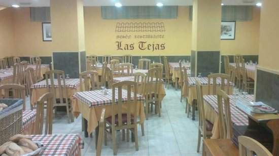 Las Tejas: Salon comedor