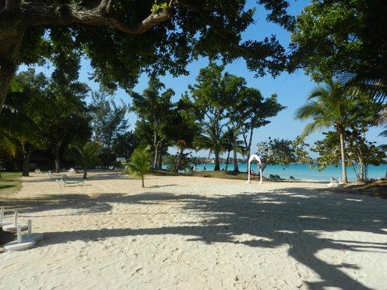 Hotel Riu Palace Tropical Bay: plage du RIU NEGRIL
