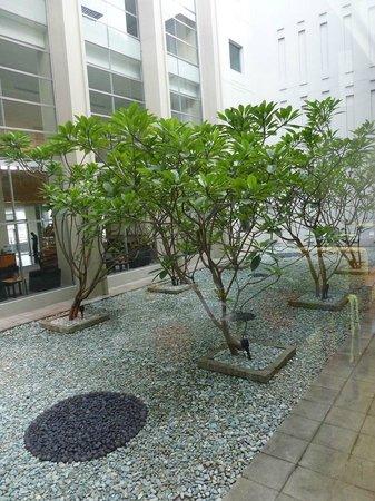 Alila Jakarta: Internal courtyard