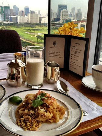 Grand Hyatt Erawan Bangkok: Breakfast in the club
