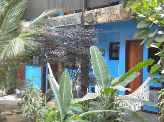 Pousada dos Meros: Vista desde el bungalow
