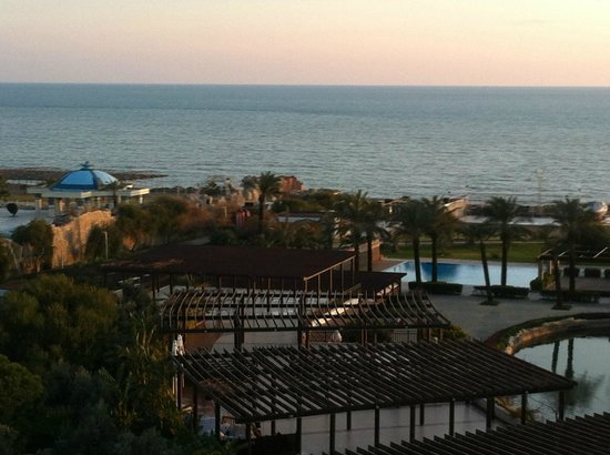 Rixos Premium Belek:                   View from the room